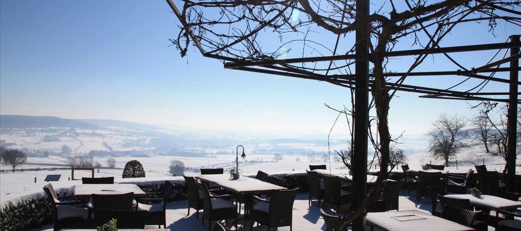 Winter natuur puur arrangement hotel gerardushoeve heijenrath heuvelland zuid limburg - Terras arrangement ...